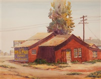 red building by clarence nelson aldrich