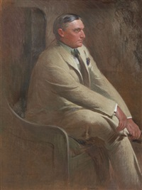 portrait of william denny by john white alexander