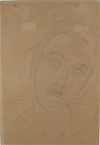 portrait de jeune fille by amedeo modigliani