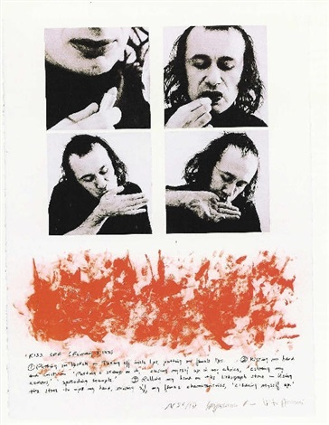kiss off by vito acconci
