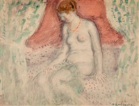 nude by frederick carl frieseke