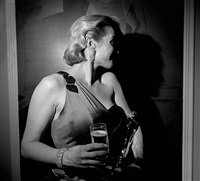 oscar party, kate winslet, los angeles, february, 2009 by larry fink