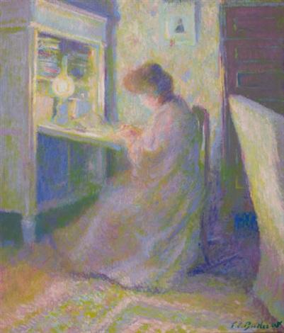 femme de l artiste by theodore earl butler