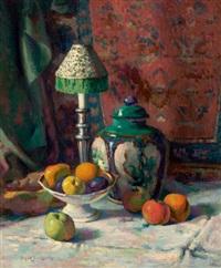 oriental jar by hugh henry breckenridge
