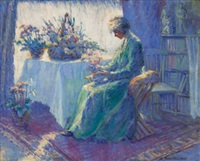 morning shadow and sunlight by harriette bowdoin