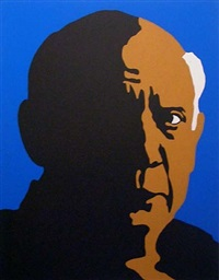 pablo picasso by rupert garcia