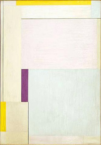 violet rectangle by ilya bolotowsky