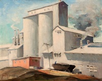 industrial scene by john f. swalley