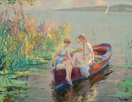 summer reflections by edward cucuel