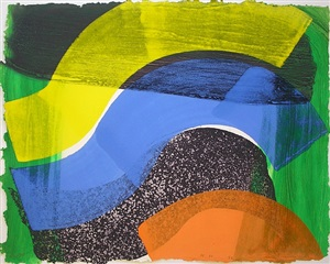 put more flags out now by howard hodgkin