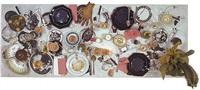 tisch, handschirn hammerausstellung by daniel spoerri