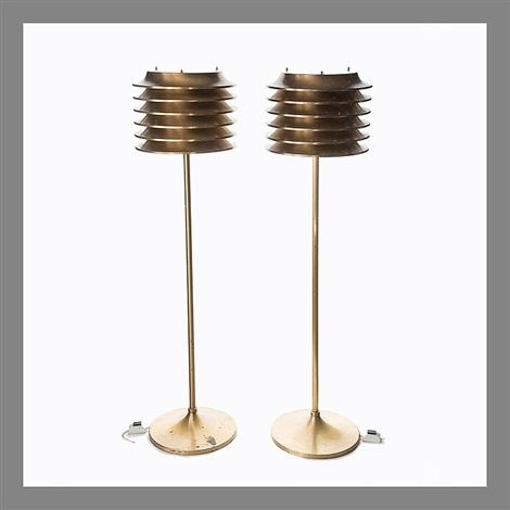 Pair Of Floor Lamps By Kari Ruokonen