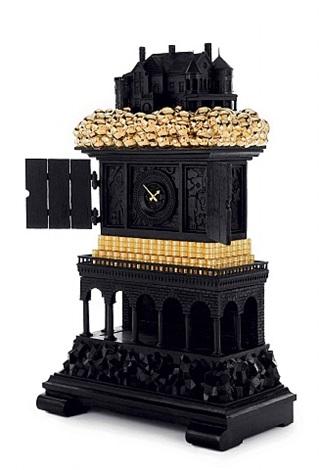 robber baron clock (view 2) by studio job