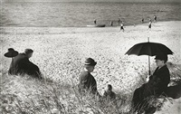 picnic by the baltic, germany by herbert list