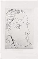 portrait de femme (dora maar) by pablo picasso