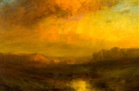 golden sunset by charles p. appel