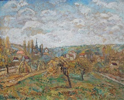 paysage by adolphe clary-baroux