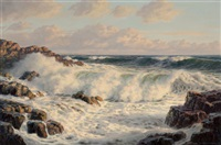 breaking waves by josef m. arentz