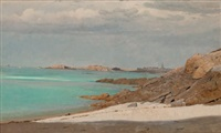 saint-malo, brittany by william stanley haseltine