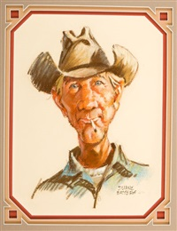 mule scruggs by duane bryers