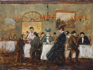 au restaurant by jean duhetre