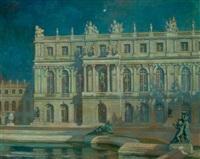nocturne, versailles by alexander harrison