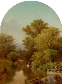 river landscape by albert fitch bellows