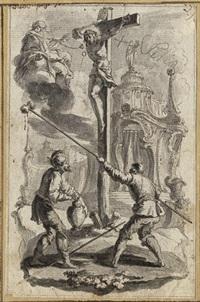 christus am kreuz by gottfried bernhard goetz