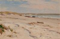 beach scene by frederick porter vinton