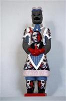 terracotta warrior - obama by liu fenghua & liu yong