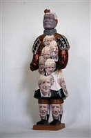 terracotta warrior - boris johnson by liu fenghua & liu yong