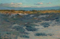 heather plain, easthampton, long island by henry golden dearth