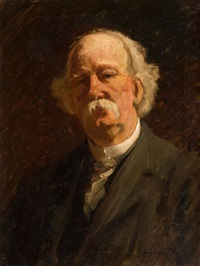 portrait of mark twain by stacy tolman
