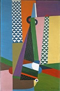 composition géométrique by georges valmier