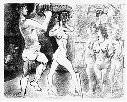 <font color=ffffff>2</font>the rehearsal by pablo picasso
