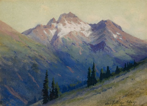 mountain vista by charles partridge adams