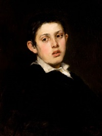 portrait of a boy by frederick porter vinton