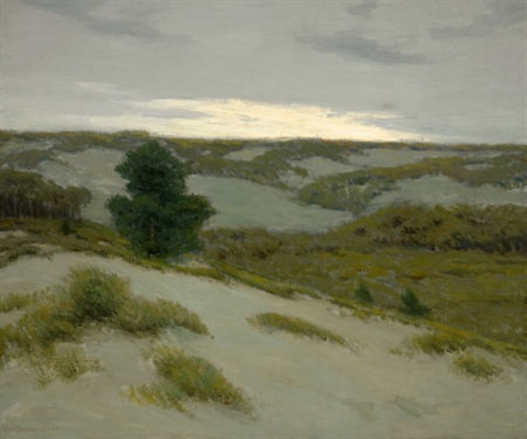 the gray dunes belgium by charles warren eaton