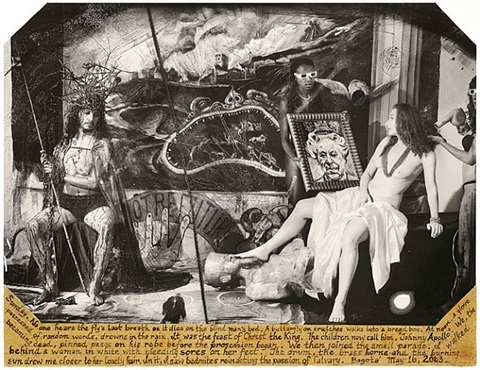 apollo and pilate's wife, bogota by joel-peter witkin