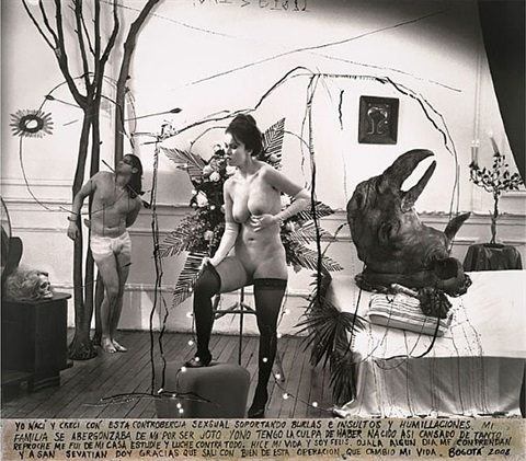 the scale, bogota by joel-peter witkin