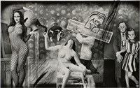 reality is an invention: the constellation of balthus, new mexico by joel-peter witkin