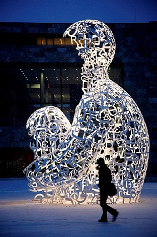 body of knowledge by jaume plensa