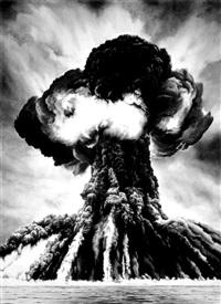 russian bomb / semipalatinsk by robert longo