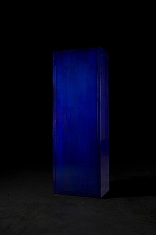 the bic blue cabinet by studio libertiny