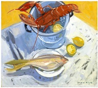 lobster and snapper by glen scouller