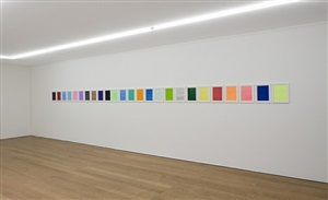 work no. 489, pen drawings by martin creed