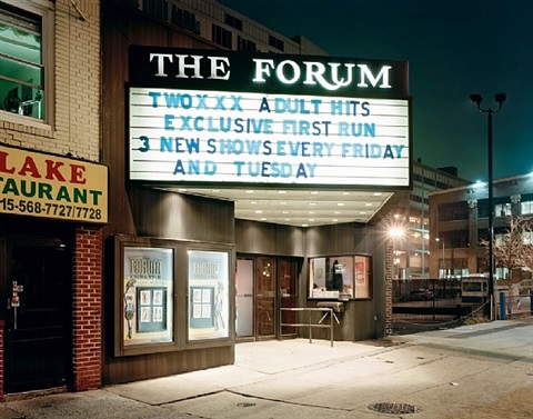 the forum, philadelphia, from: down these main streets by will steacy