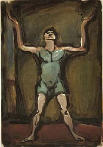 le jongleur (from le cirque) by georges rouault