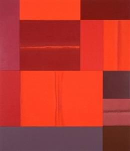 red, white, black by charles arnoldi