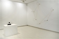 exhibition view by waltercio caldas